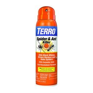 最好的蜘蛛杀手选择:Terro T2302蜘蛛杀伤气溶胶喷雾