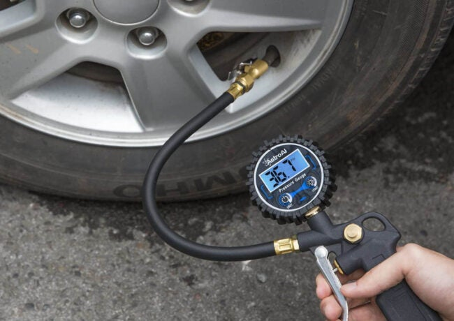 最好的轮胎充气选择