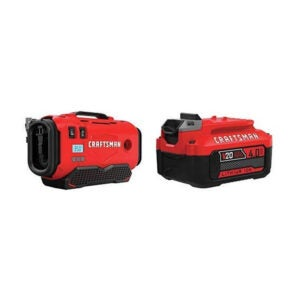 The Best Tire Inflator Option: CRAFTSMAN V20 Inflator CMCE520B