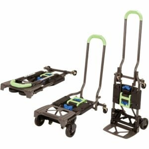 The Best Folding Hand Truck Option: Cosco Shifter 300-Pound Capacity Folding Dolly