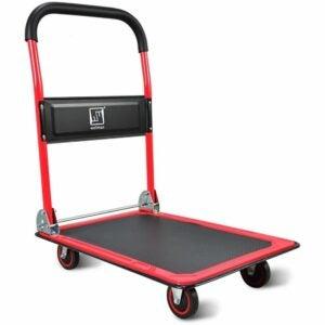 The Best Folding Hand Truck Option: Wellmax Push Cart Dolly Moving Platform Hand Truck