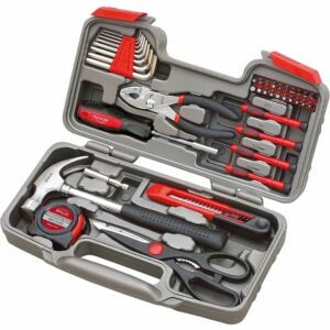 The Best Home Tool Kit Option: Apollo Tools DT9706 Original 39 Piece General Repair