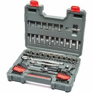 """The Best Home Tool Kit Option: Crescent 84 Pc. 1/4"""" & 3/8"""" Drive 6 & 12 Point Set"""