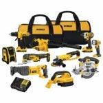 The Best Home Tool Kit Option: DEWALT 20V Max Cordless Drill Combo Kit, 10-Tool