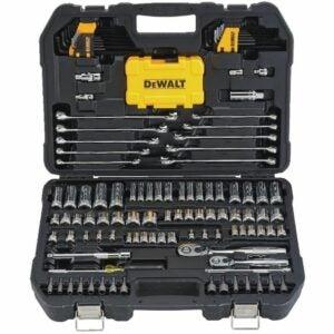 The Best Home Tool Kit Option: DEWALT Mechanics Tools Kit and Socket Set, 142-Piece