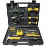 最好的家用工具套件选项:Stanley Mechanics Tools Kit / Home工具套件,65件