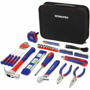 The Best Home Tool Kit Option: WORKPRO Kitchen Drawer Tool Kit 100-Piece