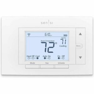 The Best Smart Thermostat Options: Emerson Sensi Wi-Fi Thermostat for Smart Home, ST55