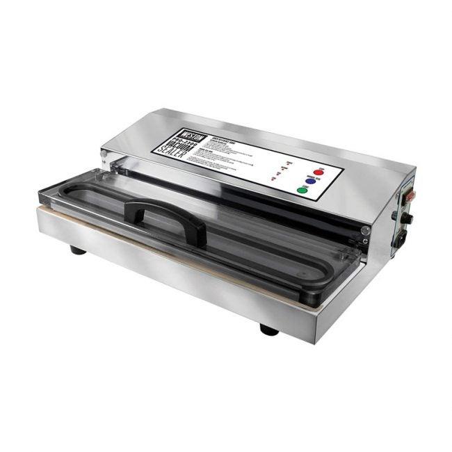 The Best Vacuum Sealer Option: Weston Pro-2300 Stainless Steel Vacuum Sealer