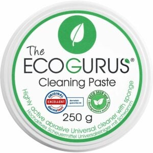The Best Oven Cleaner Option: EcoGurus Natural Cleaner & Sponge Stove Oven Cooktop