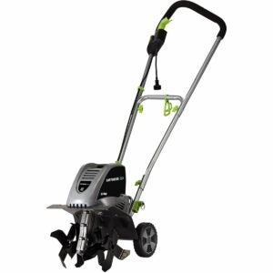 The Best Extension Cord Option: Earthwise TC70001 8.5-Amp Corded Electric Tiller