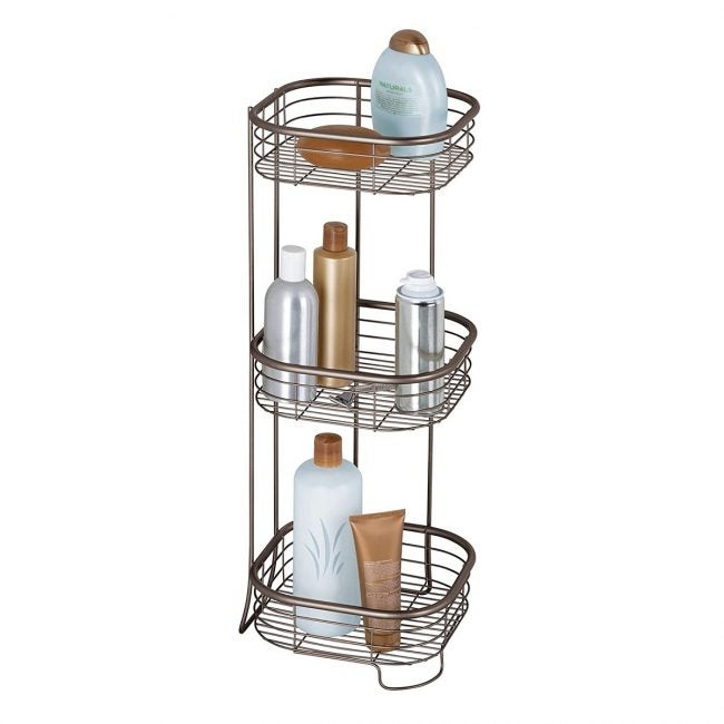 Best Shower Caddies Options: idesign forma metal wire