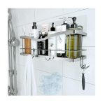 Best Shower Caddies Options: kincmax shower caddy basket shelf