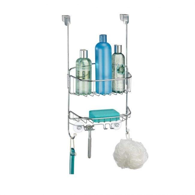 Best Shower Caddies Options: mdesign modern metal wire