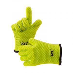 最佳烧烤手套选择:AYL硅胶烹饪手套