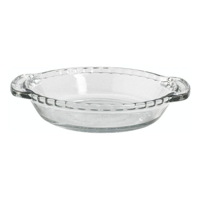 The Best Pie Dish Option: Anchor Hocking Oven Basics 6-Inch Mini Pie Plate Set