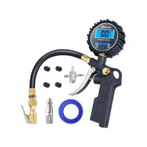 最佳轮胎充气器选择:AstroAI数字轮胎充气器与压力表
