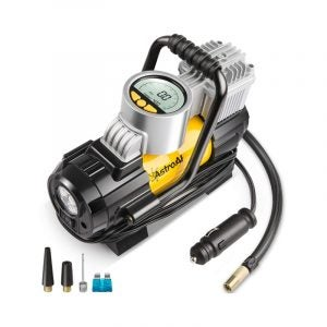 最佳轮胎充气机选项:Astroai便携式空气压缩机泵