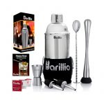 最好的鸡尾酒振动筛选:Barillio Elite Cocktail Shaker套装