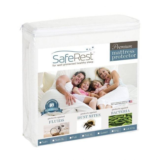 Best Mattress Protectors Options: SafeRest Queen Size Premium