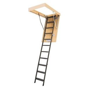 Best Attic Ladder Options: FAKRO LMS 66866 Insulated Steel Attic Ladder