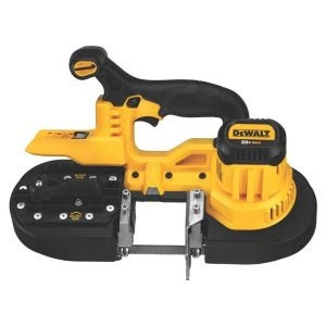 The Best Band Saw Option: DEWALT Portable Band Saw, Deep Cut, 10 Amp, 5-Inch