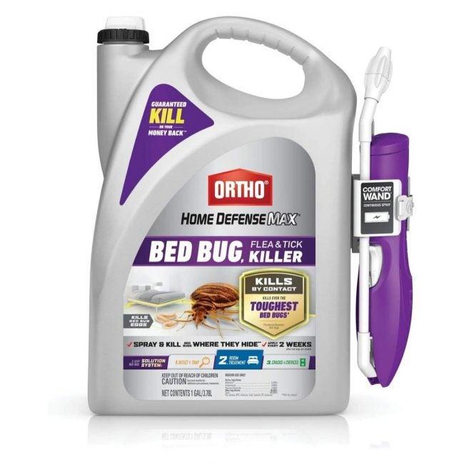 The Best Bed Bug Spray Option: Ortho Home Defense Max Bed Bug Killer