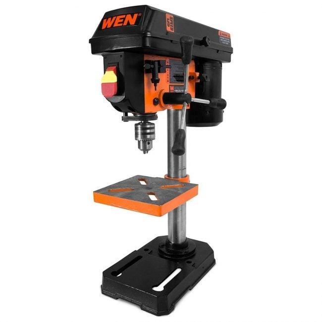 The Best Benchtop Drill Press Option: WEN 4208 8-Inch 5-Speed Drill Press