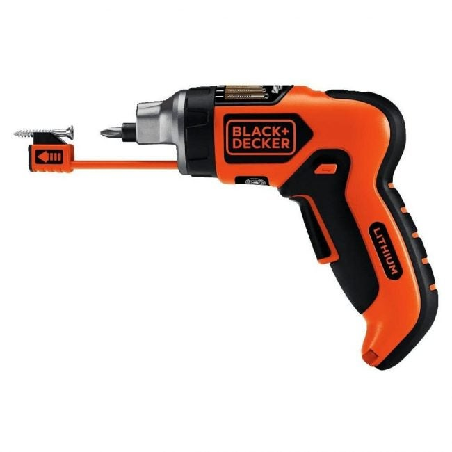 The Best Electric Screwdriver Option: BLACK+DECKER Electric Screwdriver with Screwholder
