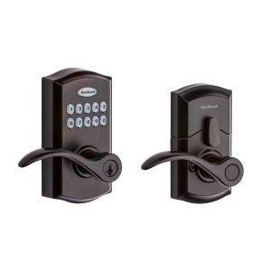 最佳电子门锁选项:kwikset smartcode 955