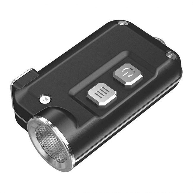 The Best Keychain Flashlight Option: NITECORE TINI 380 Lm USB Rechargeable LED Flashlight