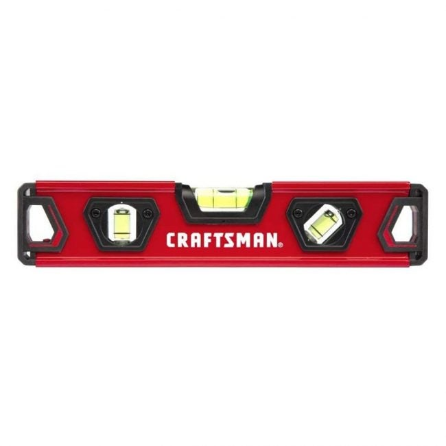 The Best Levels Option: CRAFTSMAN Torpedo Level, 9-Inch (CMHT82390)