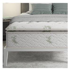 Best Mattress on Amazon Options: Signature Sleep 13 Hybrid Coil Mattress, Queen, White