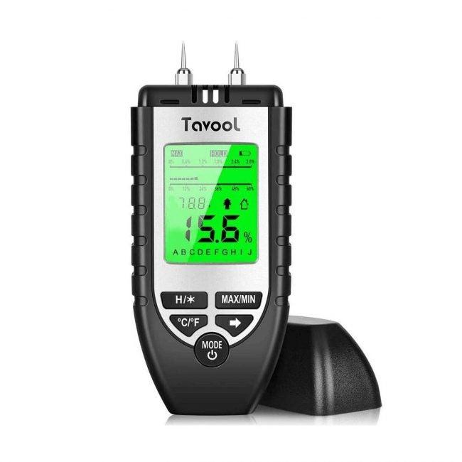 最佳湿气计选择:木材湿气计-数字湿气探测器