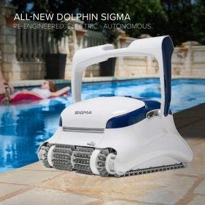 最好的机器人池清洁剂选项:海豚E10自动机器人池清洁剂