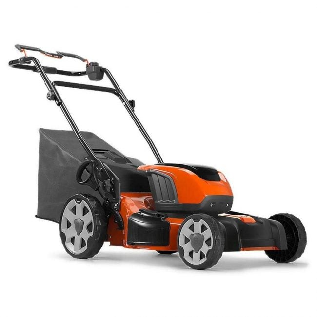 The Best Self Propelled Lawn Mowers Option: Husqvarna 967820592 LE221R Self-Propelled Mower