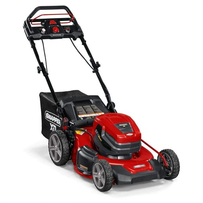 The Best Self Propelled Lawn Mowers Option: Snapper XD 82V MAX Step Sense Cordless Lawn Mower
