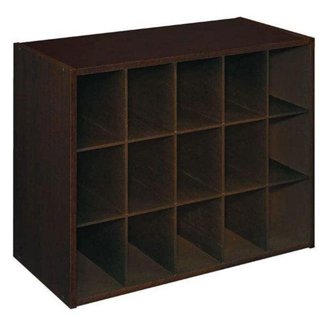 The Best Shoe Rack Option: ClosetMaid 8929 Stackable 15-Unit Organizer