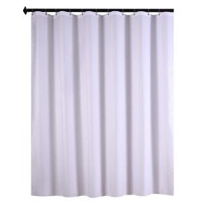 Best Shower Curtain Liners Options: Biscaynebay Fabric Shower Curtain Liners Water Resistant Bathroom Curtain Liners