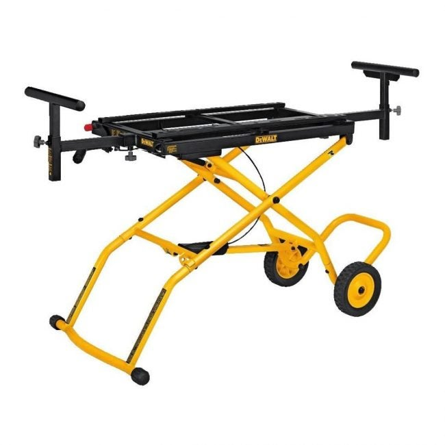 The Best Soundproofing Material Option: DEWALT DWX726 Miter Saw Stand With Wheels