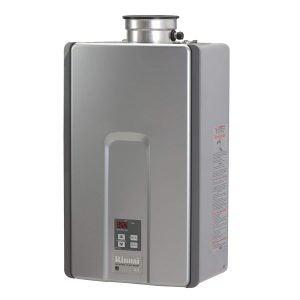最佳无罐燃气热水器选择:Rinnai RL系列HE+无罐燃气热水器室内安装