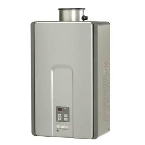 Best Tankless Gas Water Heater Options: Rinnai RL Series HE+ Tankless Hot Water Heater