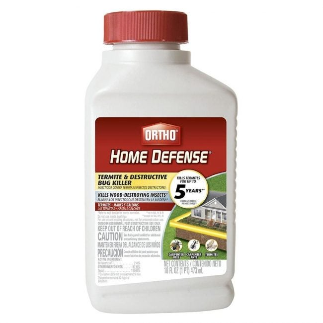 The Best Termite Treament Option: Ortho 0200010 16 Oz Concentrated Termite Killer