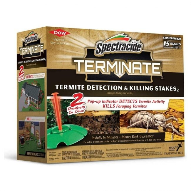 The Best Termite Treament Option: Spectracide Terminate Detection & Killing Stakes2