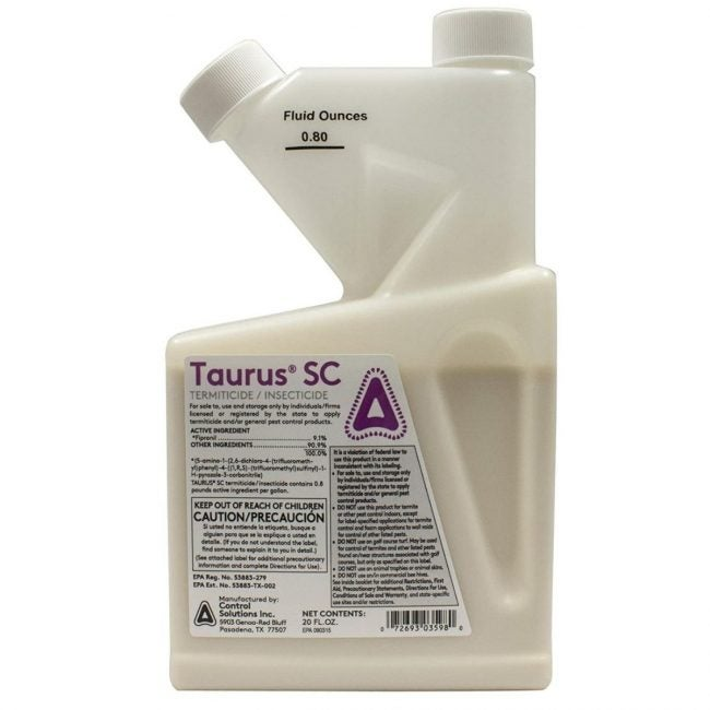 The Best Termite Treament Option: Taurus SC 20 oz bottle