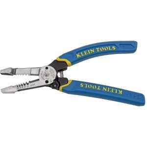 The Best Wire Strippers Option: Klein Tools K12055 Wire Cutter and Wire Stripper