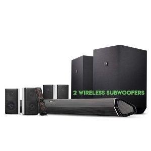 The Best Wireless Surround Sound System Option: Nakamichi Shockwafe Ultra Surround Sound System