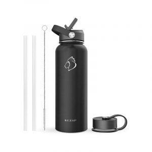 The Best Reusable Water Bottle Option: Buzio Insulated Water Bottle