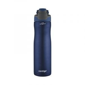 The Best Reusable Water Bottle Option: Contigo Autoseal Chill Vacuum-Insulated Water Bottle