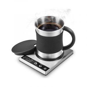 The Best Mug Warmer Option: Cosori Coffee Mug Warmer & Mug Set